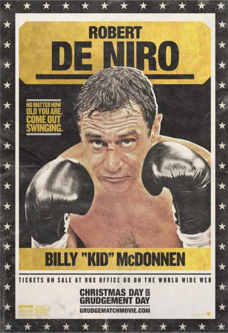 Old School De Niro Grudge Match Poster, Is Escape Plan Going To Flop