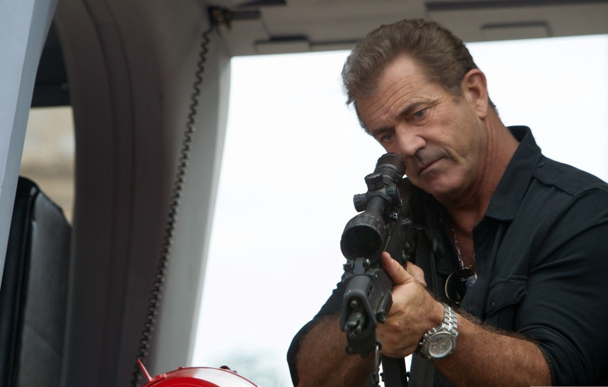 Gibson On Working Out For Expendables 3 Manlymovie